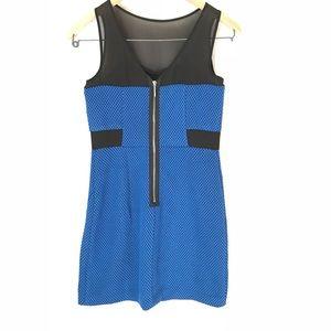 Kensie Dresses - Kensie Sleeveless Dress, NWOT, Blue & Black XS